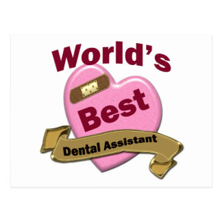 World's Best Dental Assistant Postcard