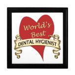 World's Best Dental Hygienist Keepsake Box