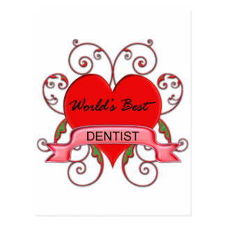 World's Best Dentist Postcard