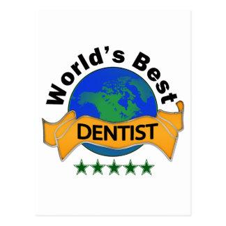 World's Best Dentist Postcard