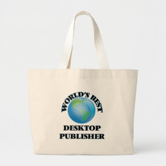 World's Best Desktop Publisher Canvas Bags