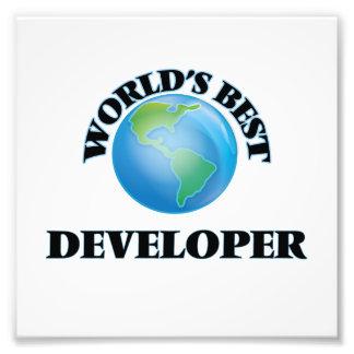 World's Best Developer Photo Print