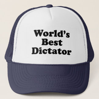 World's Best Dictator Trucker Hat