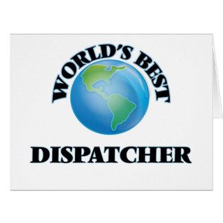 World's Best Dispatcher Cards
