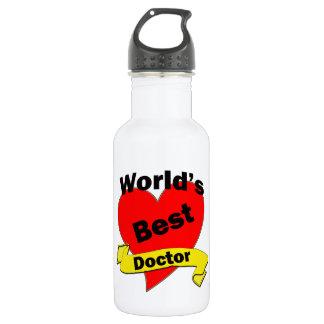 World's Best Doctor 532 Ml Water Bottle