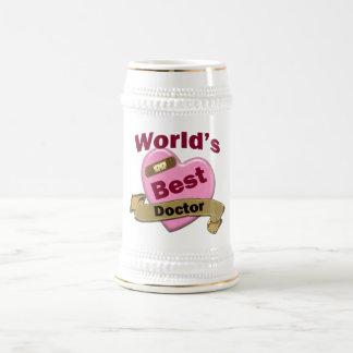 World's Best Doctor Beer Stein