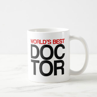 World's Best Doctor Coffee Mug