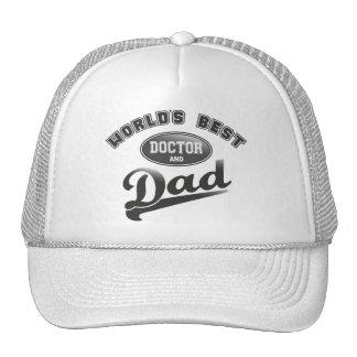 World's Best Doctor & Dad Cap