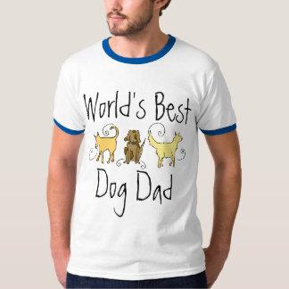 World's Best Dog Dad Tshirts
