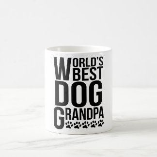 World's Best Dog Grandpa Coffee Mug