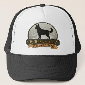 World's Best Dog [Siberian Husky] Trucker Hat