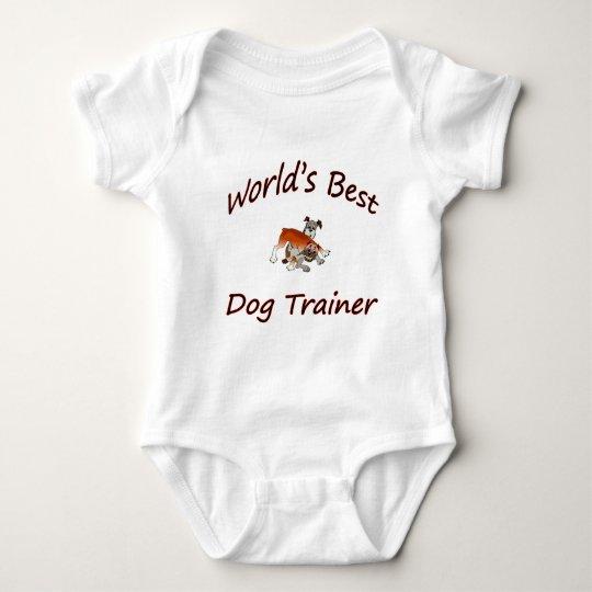 World's Best Dog Trainer Baby Bodysuit
