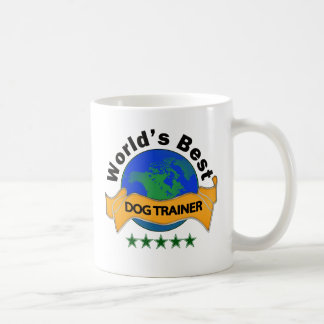 World's Best Dog Trainer Basic White Mug