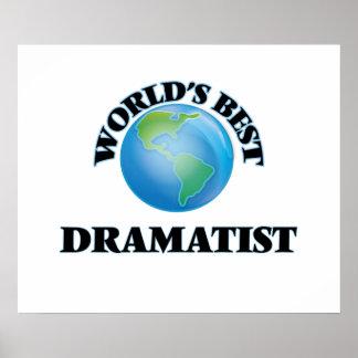 World's Best Dramatist Print