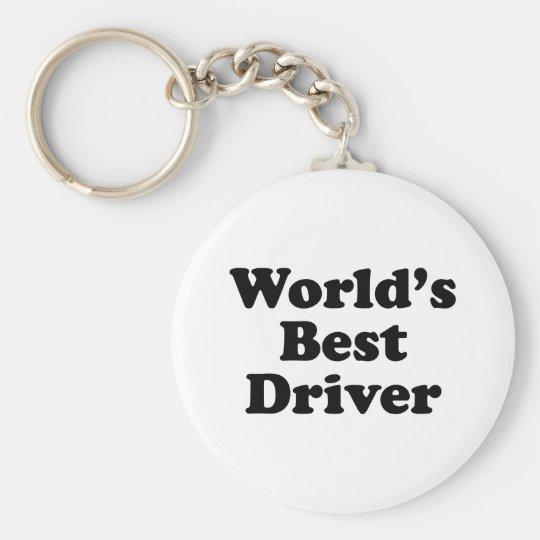 World's Best Driver Key Ring