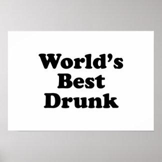 World's Best Drunk Posters