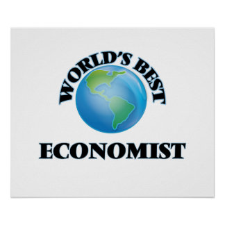 World's Best Economist Print