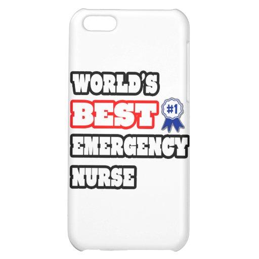World's Best Emergency Nurse iPhone 5C Cases
