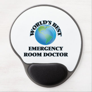 World's Best Emergency Room Doctor Gel Mouse Mat