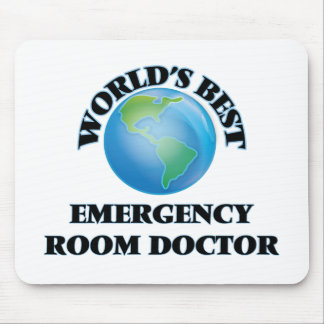 World's Best Emergency Room Doctor Mouse Pad