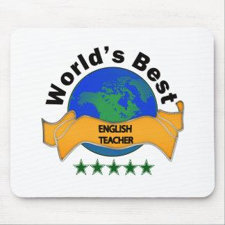 World's Best English Teacher Mouse Pad