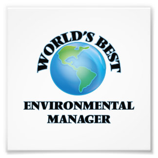 World's Best Environmental Manager Photo