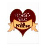 World's Best ER Nurse Post Cards