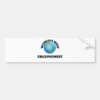 World's Best Ergonomist Bumper Stickers