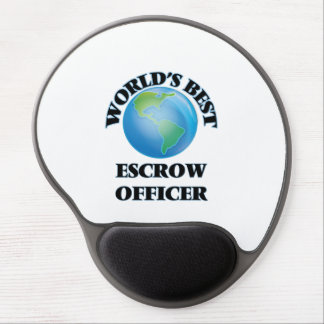 World's Best Escrow Officer Gel Mouse Pads