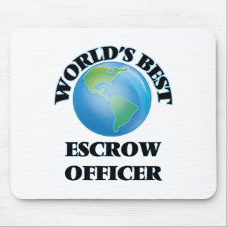 World's Best Escrow Officer Mousepads