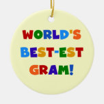 World's Best-est Gram Bright Colours Gifts