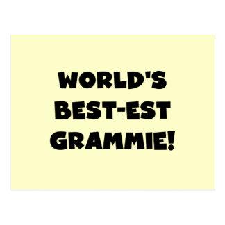 World's Best-est Grammie Black or White Gifts Postcard