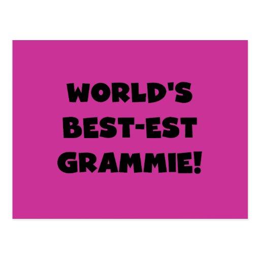 World's Best-est Grammie Black or White Gifts Postcards