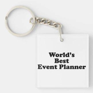 World's Best Event Planner Acrylic Keychains