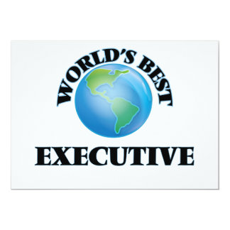 World's Best Executive Invite
