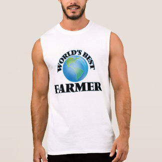 World's Best Farmer Sleeveless Shirt
