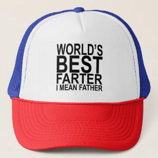 World's Best Farter I Mean Father Trucker Hat