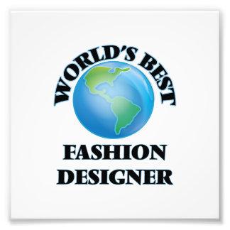 World's Best Fashion Designer Photo Art