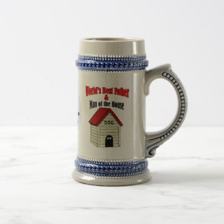 World's Best Father & Man Of The House Beer Steins