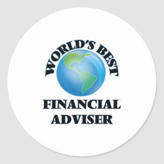 World's Best Financial Adviser Sticker