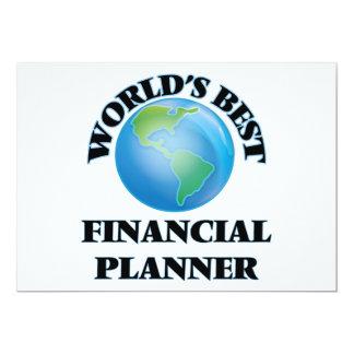 World's Best Financial Planner Custom Invites