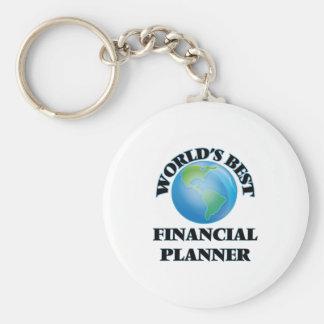 World's Best Financial Planner Keychain