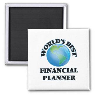 World's Best Financial Planner Fridge Magnet