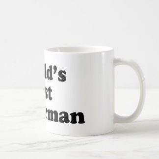 World's Best Fisherman Basic White Mug