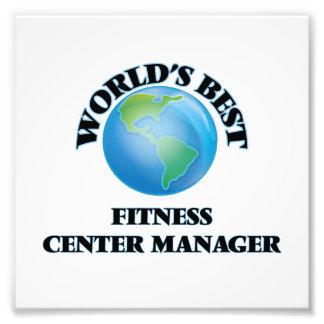 World's Best Fitness Center Manager Art Photo