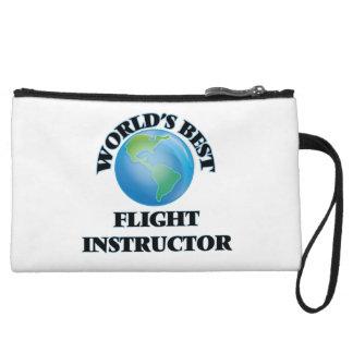 World's Best Flight Instructor Wristlet