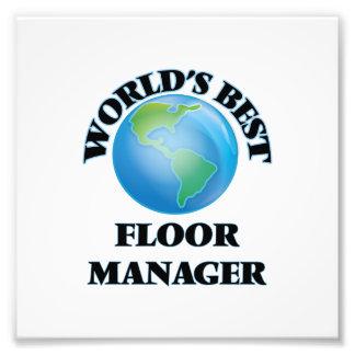 World's Best Floor Manager Photo Art