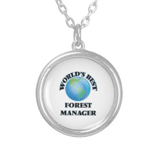 World's Best Forest Manager Jewelry