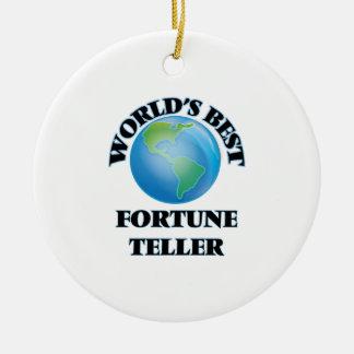 World's Best Fortune Teller Christmas Ornament
