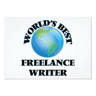 World's Best Freelance Writer Invite